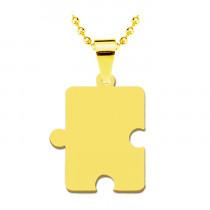 Жетон «Пазл», золото