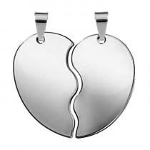 Жетон «Половинки Сердце», серебро