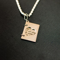 Жетон «Книжка», серебро