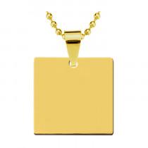Жетон «Квадратный», золото