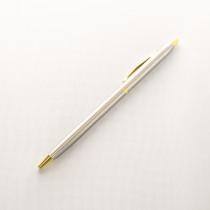 Ручка с гравировкой, стальная