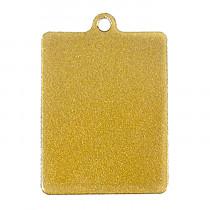 Жетон «Прямоугольный», золото