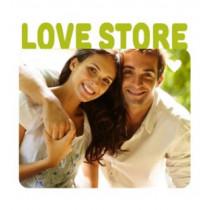 Магнит металлический «Love Store»
