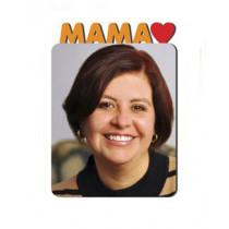 Магнит металлический «Мама»