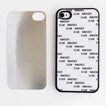 2D-чехол для сублимации на iPhone 4/4S, черный