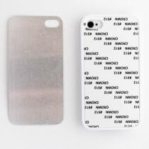 2D-чехол для сублимации на iPhone 4/4S силиконовый, белый