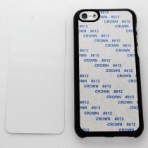 2D-чехол для сублимации на iPhone 5C, чёрный