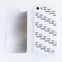 2D-чехол для сублимации на iPhone 5C, белый