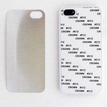 2D-чехол для сублимации на iPhone 5/5S, белый