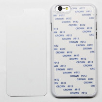 2D-чехол для сублимации на iPhone 6/6S, белый
