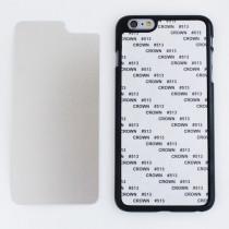 2D-чехол для сублимации на iPhone 6 PLUS, чёрный
