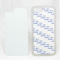 2D-чехол для сублимации на iPhone 7/8, прозрачный