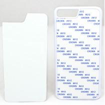 2D-чехол для сублимации на iPhone 7 PLUS/8 PLUS, белый