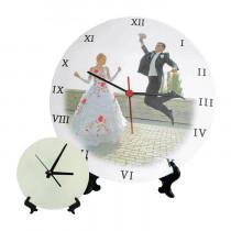 Стеклянные часы BL-27, 18x18 см