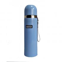 Термос «Water», голубой, 500 мл