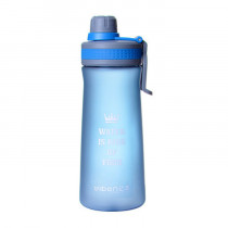 Спортивная бутылка «Water is king of food», 1000 мл, синяя