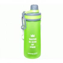 Спортивная бутылка «Water is king of food», 1000 мл, салатовая