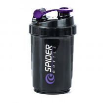 Стакан-шейкер «Spider Bottle», 500 мл, фиолетовый