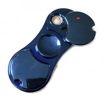 USB-зажигалка-спиннер «Heng Bang», синяя
