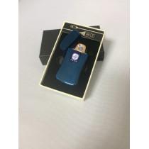 USB-зажигалка 069 цвет синий.