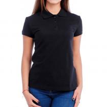 Рубашки поло черные женские (6)