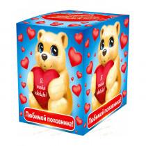 Подарочная коробка для кружки «Любимой половинке»