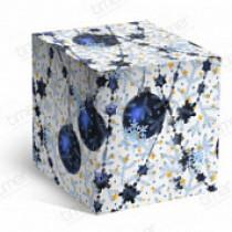 Подарочная коробка для кружки «Синие шары»