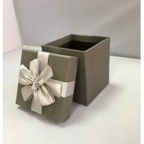 Подарочная коробка 047 К серая