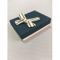 Ювелирная коробка 026 Ж синяя