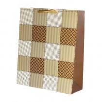 Подарочный пакет вертикальный «Сетка», №3