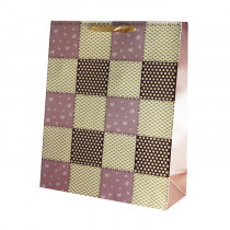 Подарочный пакет вертикальный «Сетка», №4
