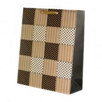 Подарочный пакет вертикальный «Сетка», №2