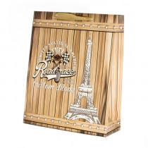 Подарочный пакет вертикальный «Башня»
