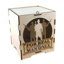 Коробка подарочная из фанеры для мужчин