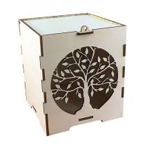 Коробка подарочная из фанеры дерево универсальная