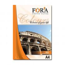 Фотобумага матовая двухсторонняя «Fora», A4/180 гр/50 листов