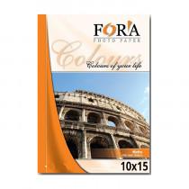 Фотобумага матовая односторонняя «Fora», 10x15 см/230 гр/500 листов