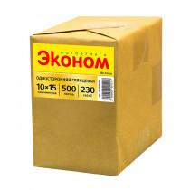 Фотобумага глянцевая «Эконом», 10x15 см/230 гр/100 листов