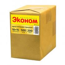Фотобумага глянцевая «Эконом», 10x15 см/200 гр/500 листов