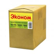 Фотобумага матовая «Эконом», 10x15 см/230 гр/500 листов